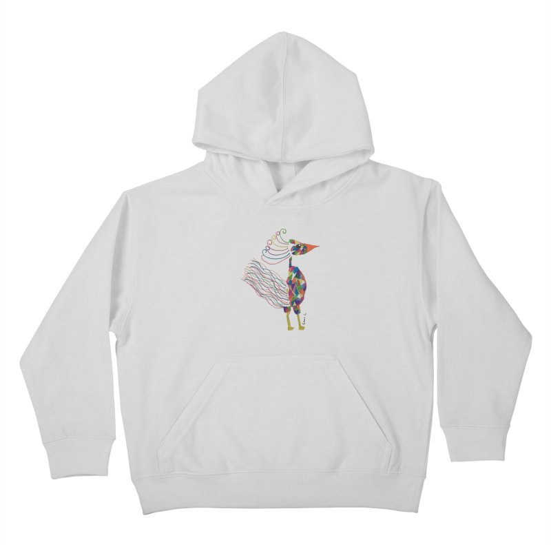 Emma Cedillo Lazcano Kids Pullover Hoody by Misterdressup