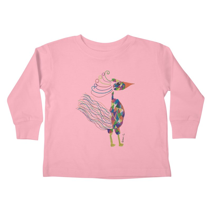 Emma Cedillo Lazcano Kids Toddler Longsleeve T-Shirt by Misterdressup