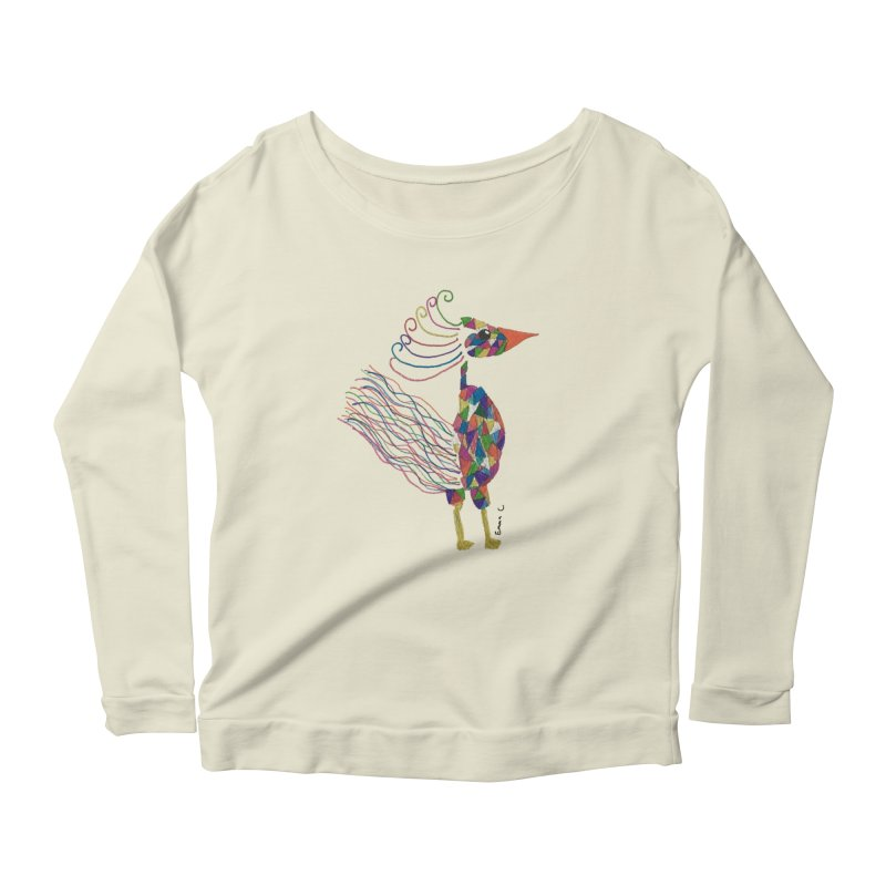 Emma Cedillo Lazcano Women's Scoop Neck Longsleeve T-Shirt by Misterdressup