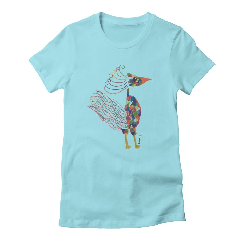 Emma Cedillo Lazcano Women's Fitted T-Shirt by Misterdressup