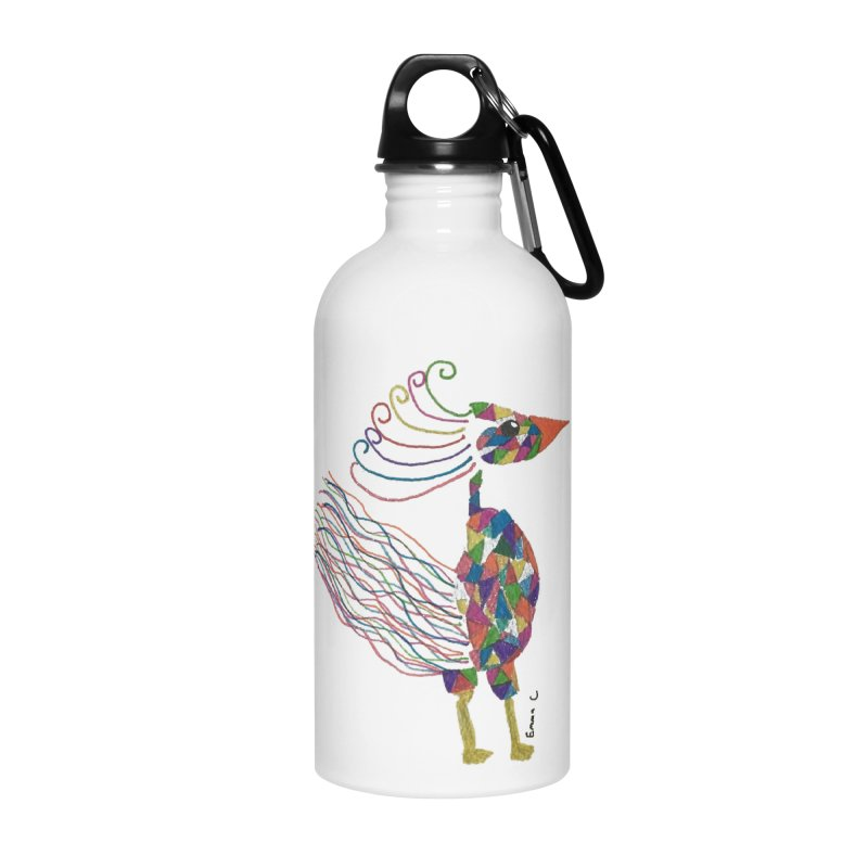 Emma Cedillo Lazcano Accessories Water Bottle by Misterdressup