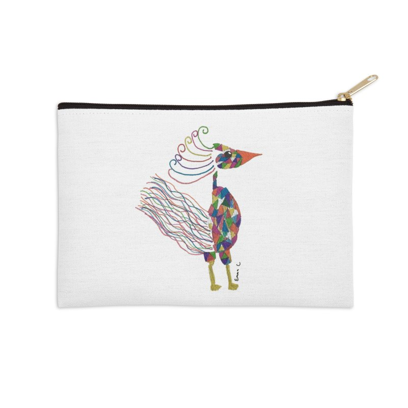 Emma Cedillo Lazcano Accessories Zip Pouch by Misterdressup