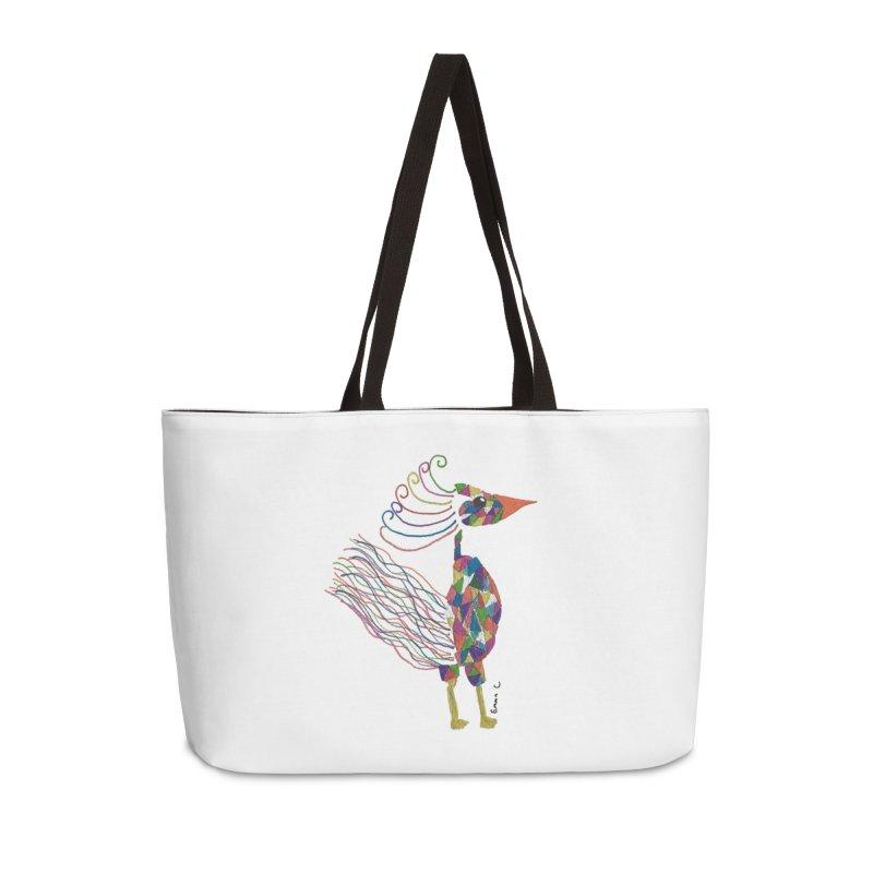 Emma Cedillo Lazcano Accessories Weekender Bag Bag by Misterdressup