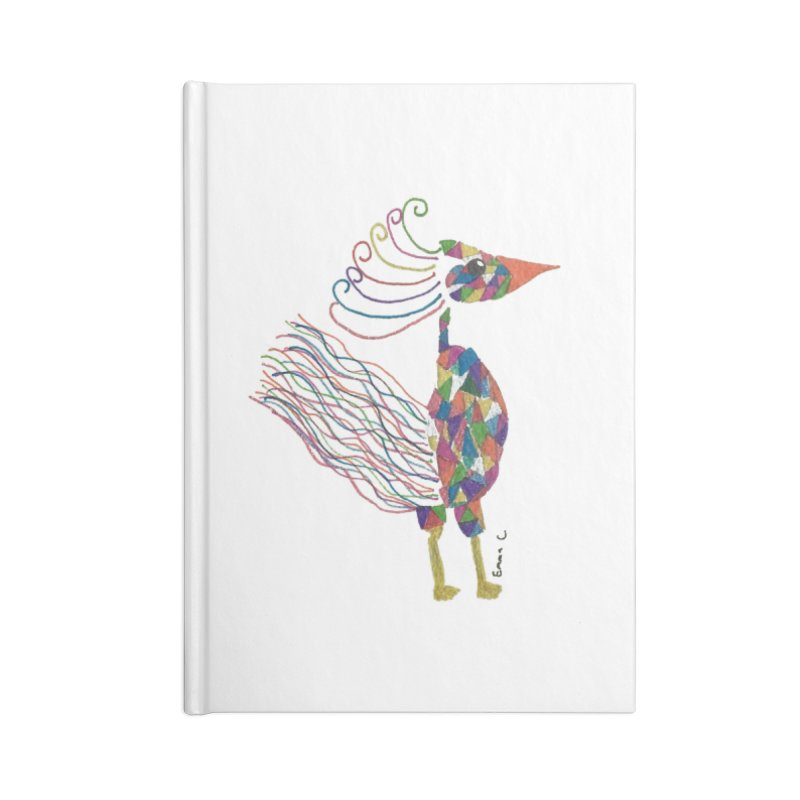 Emma Cedillo Lazcano Accessories Lined Journal Notebook by Misterdressup