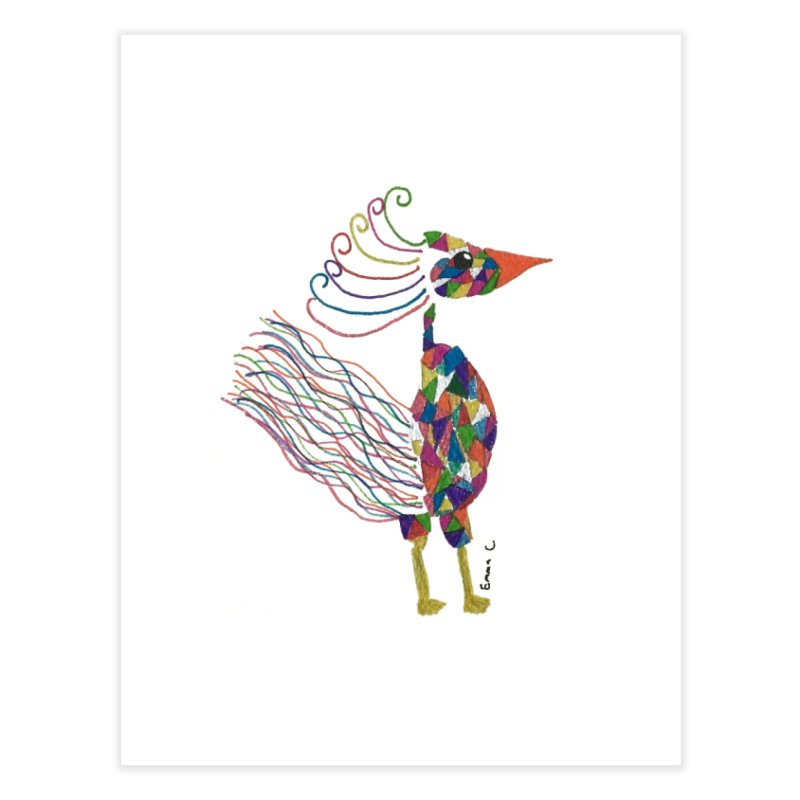 Emma Cedillo Lazcano Home Fine Art Print by Misterdressup