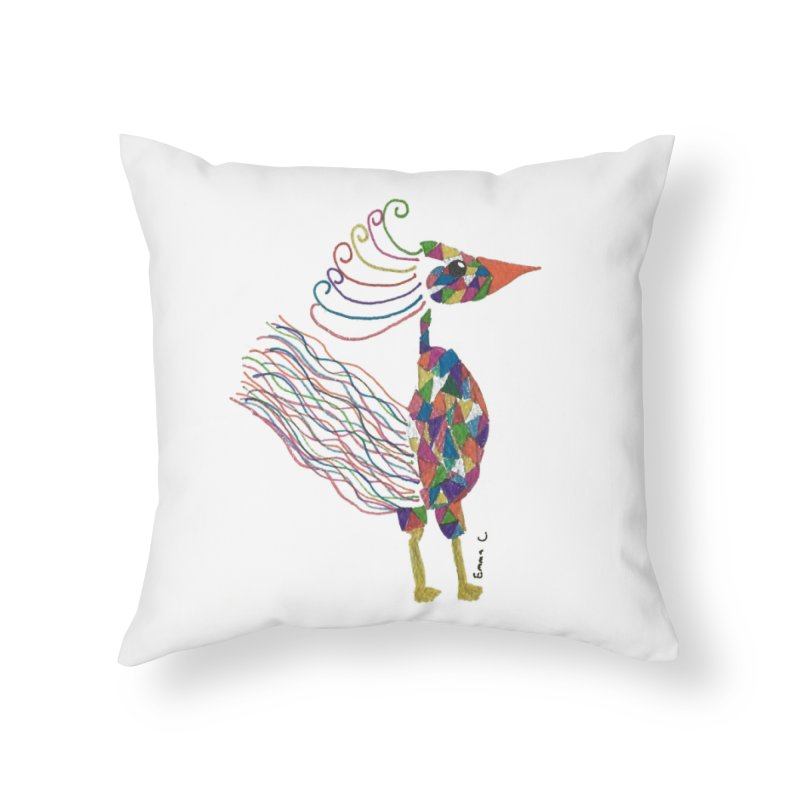 Emma Cedillo Lazcano Home Throw Pillow by Misterdressup