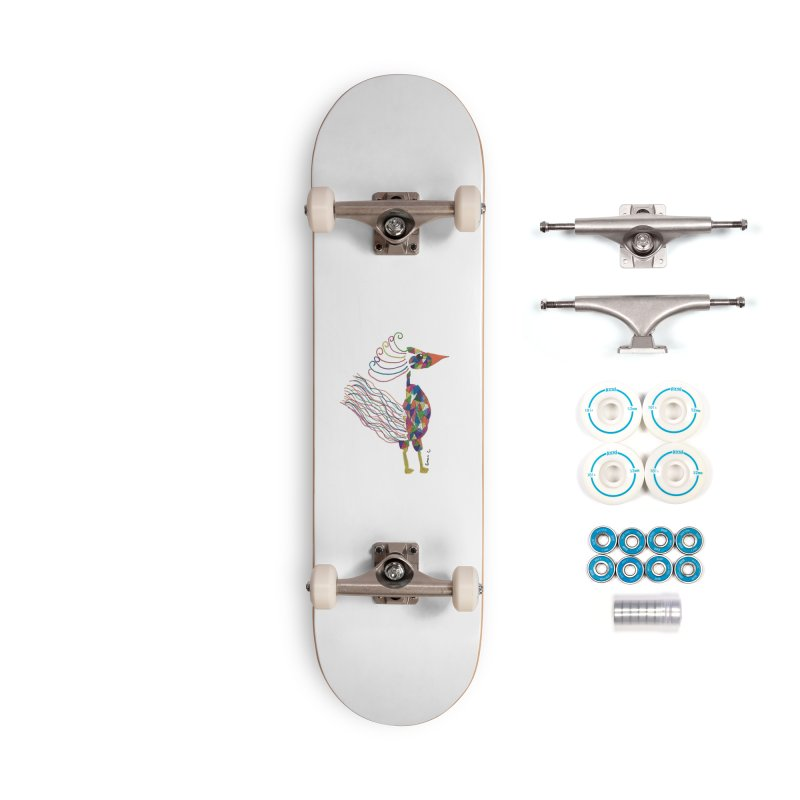 Emma Cedillo Lazcano Accessories Complete - Basic Skateboard by Misterdressup