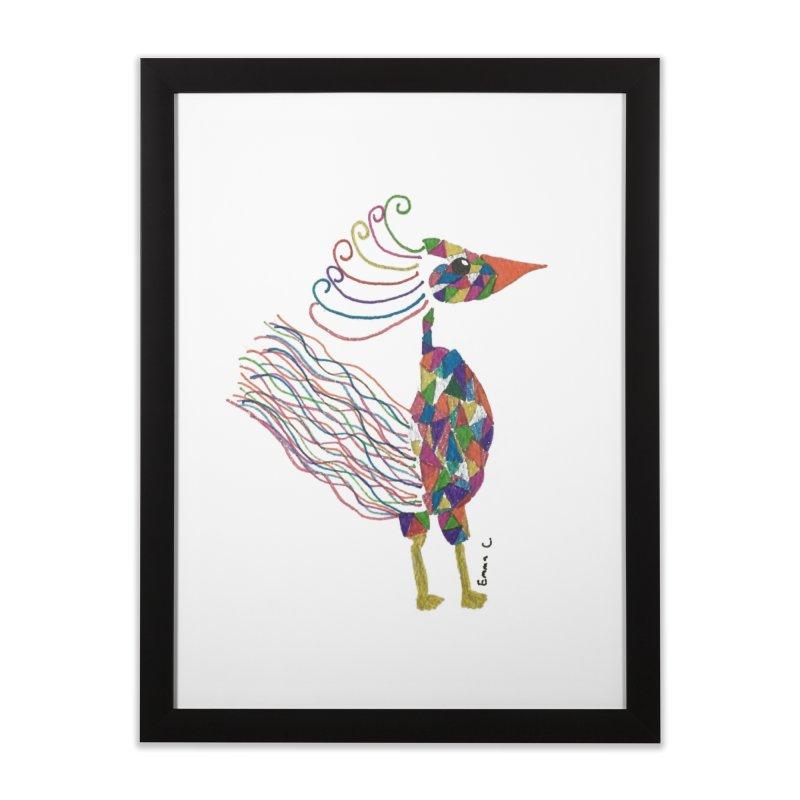 Emma Cedillo Lazcano Home Framed Fine Art Print by Misterdressup