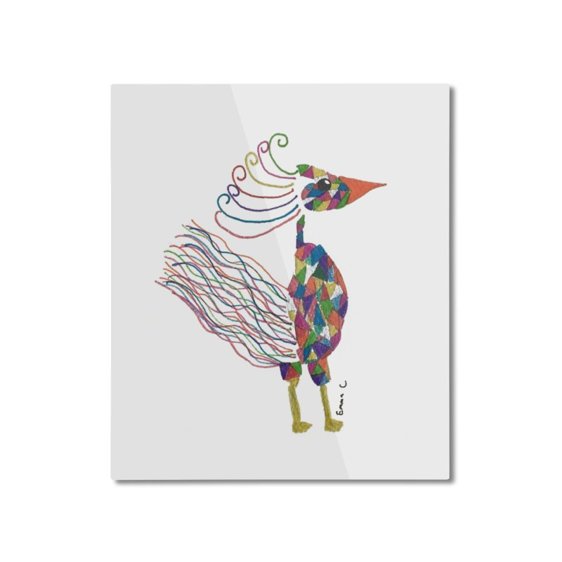 Emma Cedillo Lazcano Home Mounted Aluminum Print by Misterdressup