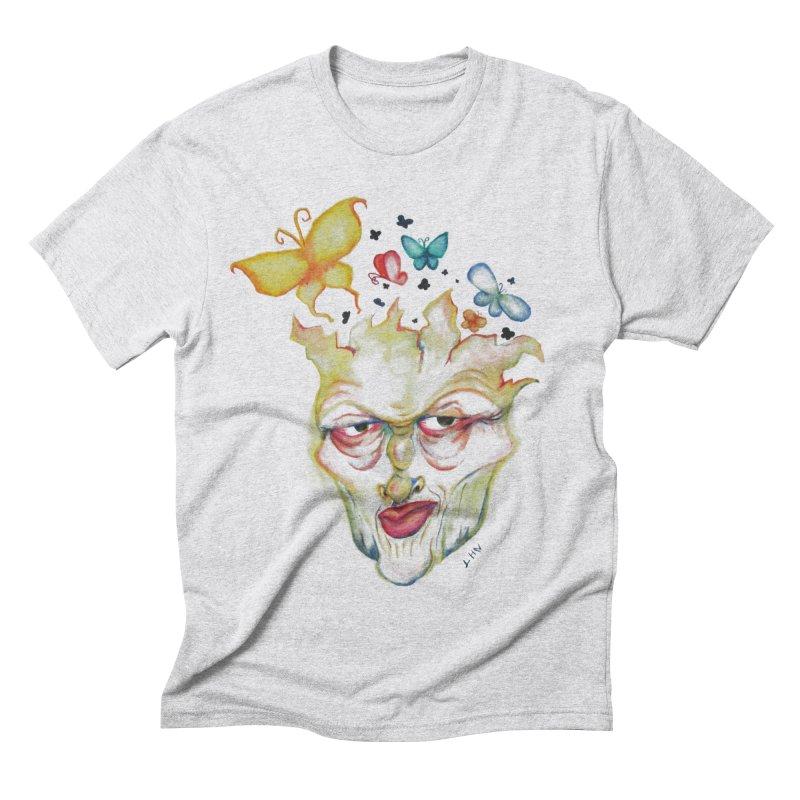 Lea Nordstrøm Men's Triblend T-Shirt by Misterdressup