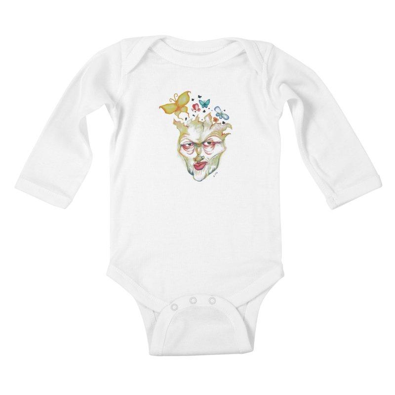 Lea Nordstrøm Kids Baby Longsleeve Bodysuit by Misterdressup