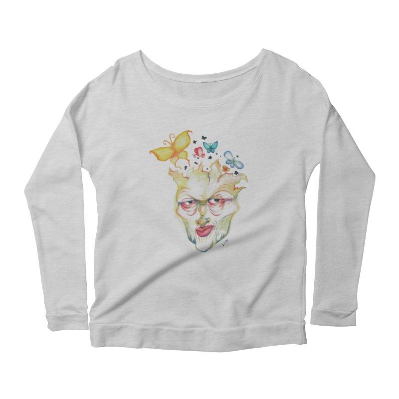 Lea Nordstrøm Women's Scoop Neck Longsleeve T-Shirt by Misterdressup