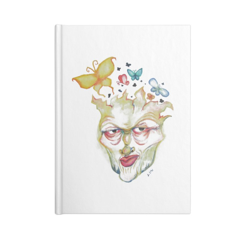Lea Nordstrøm Accessories Lined Journal Notebook by Misterdressup