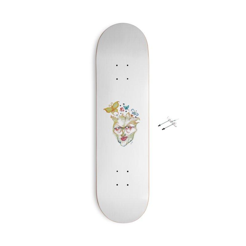 Lea Nordstrøm Accessories With Hanging Hardware Skateboard by Misterdressup