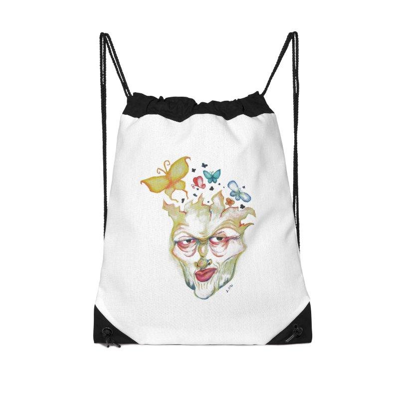 Lea Nordstrøm Accessories Drawstring Bag Bag by Misterdressup