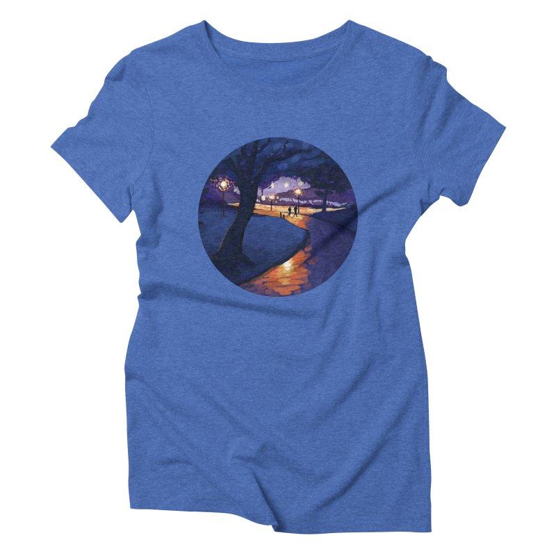 Agnes Guttormsgaard Women's Triblend T-Shirt by Misterdressup