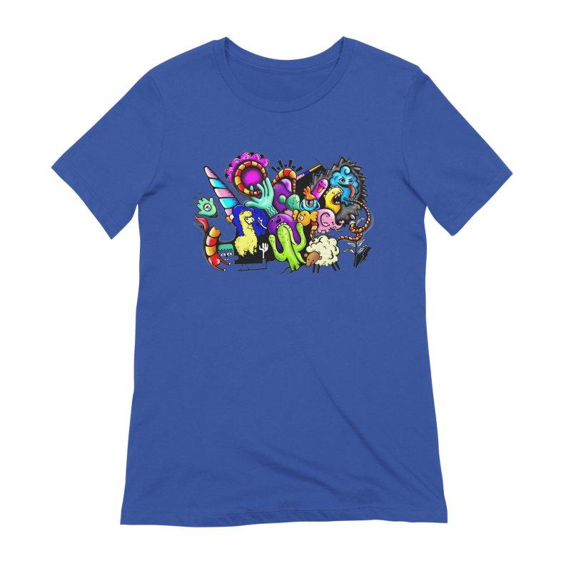 Raul Kuvischansky Women's Extra Soft T-Shirt by Misterdressup