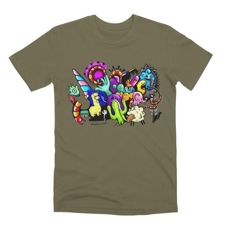 Raul Kuvischansky Men's Premium T-Shirt by Misterdressup