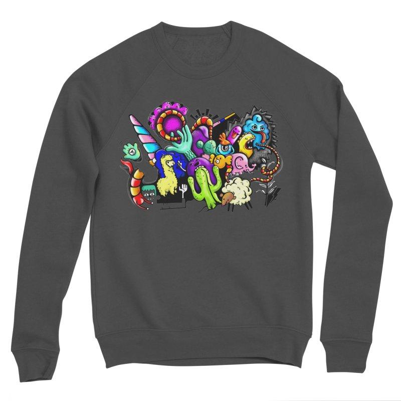 Raul Kuvischansky Women's Sponge Fleece Sweatshirt by Misterdressup