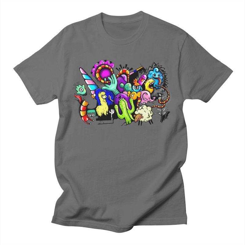 Raul Kuvischansky Men's Regular T-Shirt by Misterdressup