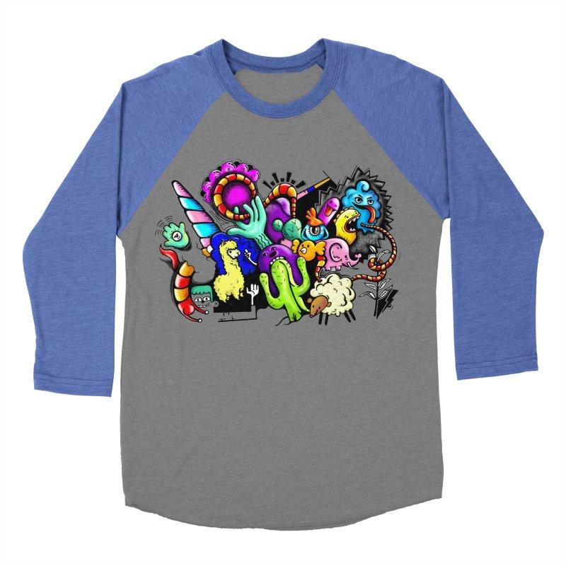 Raul Kuvischansky Men's Baseball Triblend Longsleeve T-Shirt by Misterdressup