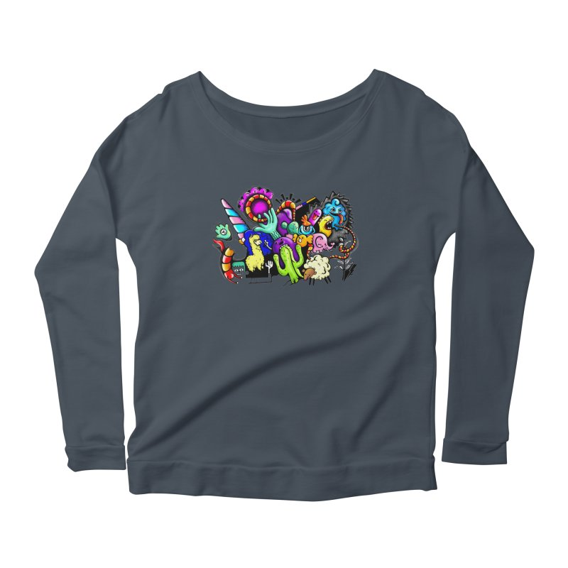 Raul Kuvischansky Women's Scoop Neck Longsleeve T-Shirt by Misterdressup