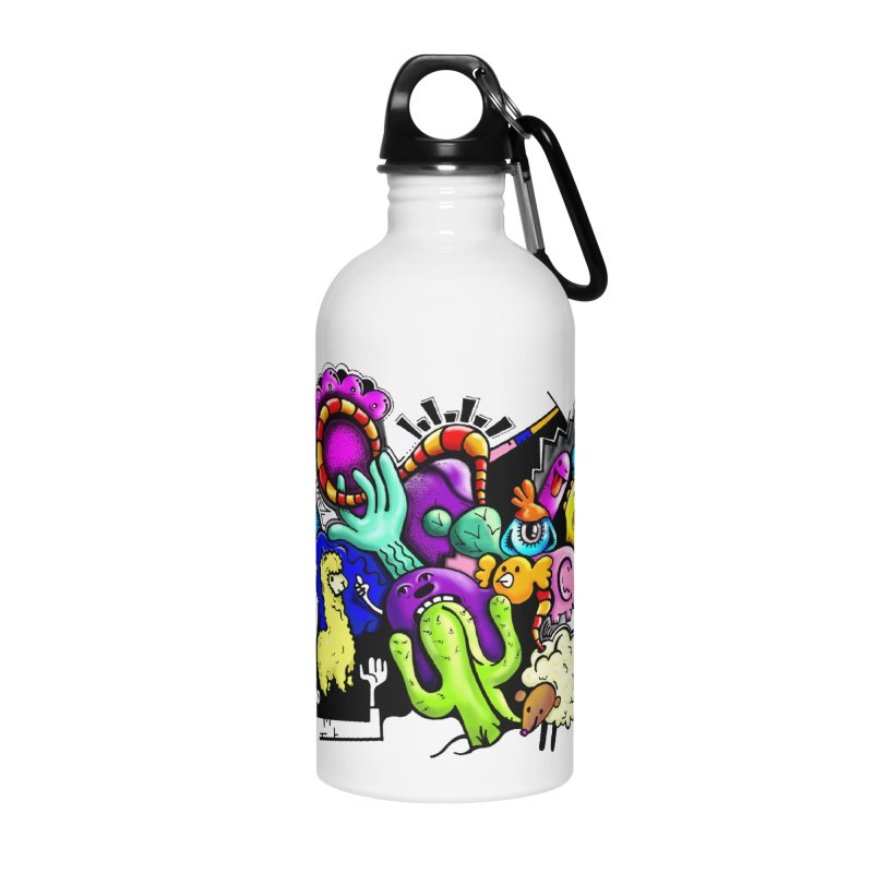 Raul Kuvischansky Accessories Water Bottle by Misterdressup