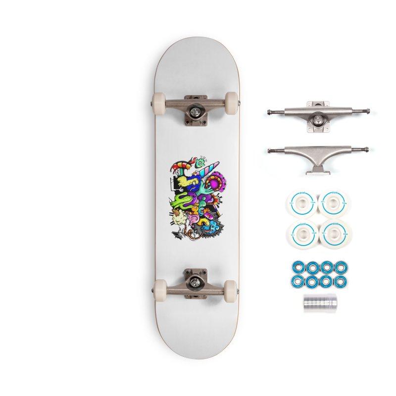 Raul Kuvischansky Accessories Complete - Basic Skateboard by Misterdressup