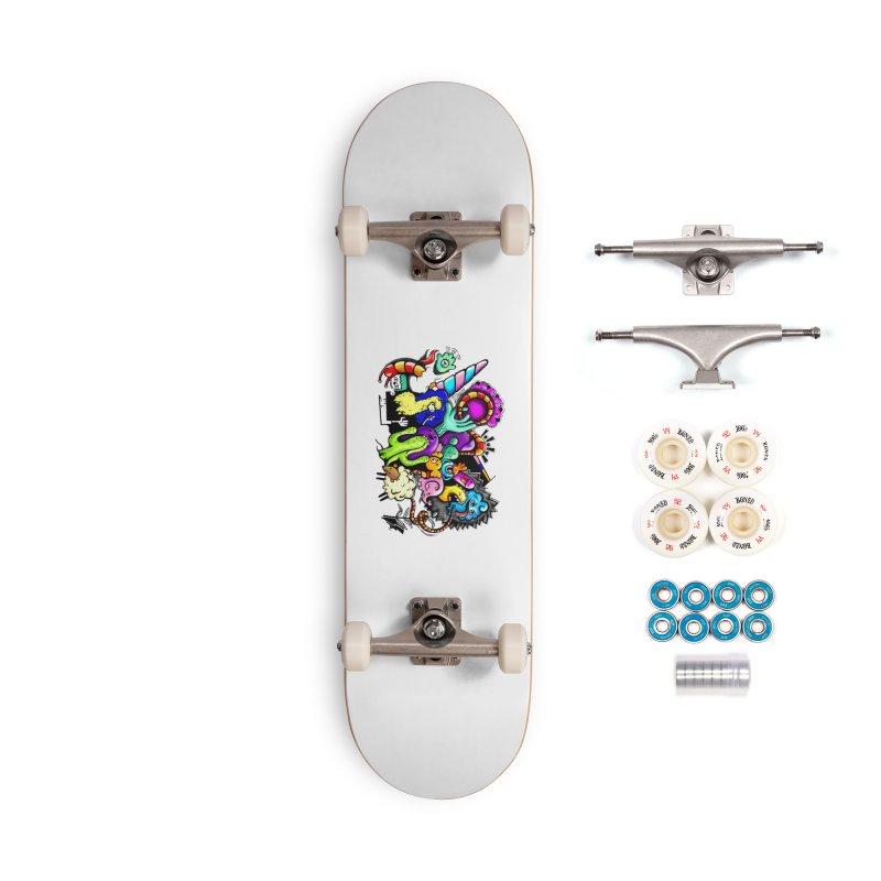 Raul Kuvischansky Accessories Complete - Premium Skateboard by Misterdressup
