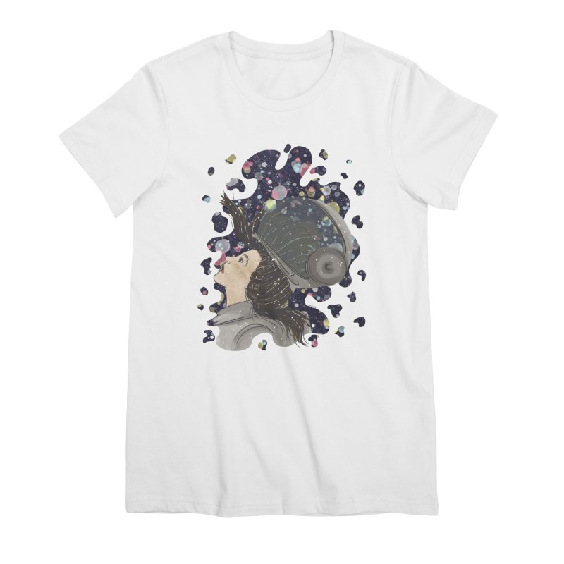 Francisca Cárcamo Women's Premium T-Shirt by Misterdressup