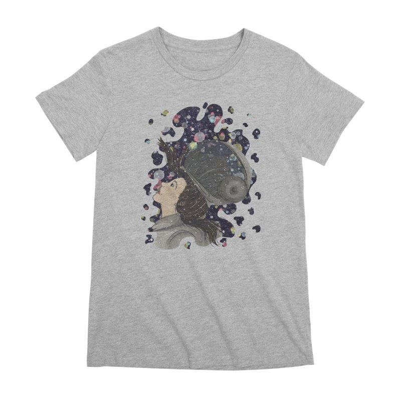Francisca Cárcamo Women's Premium T-Shirt by Misterdressup