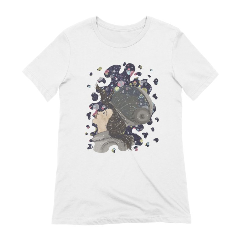 Francisca Cárcamo Women's Extra Soft T-Shirt by Misterdressup