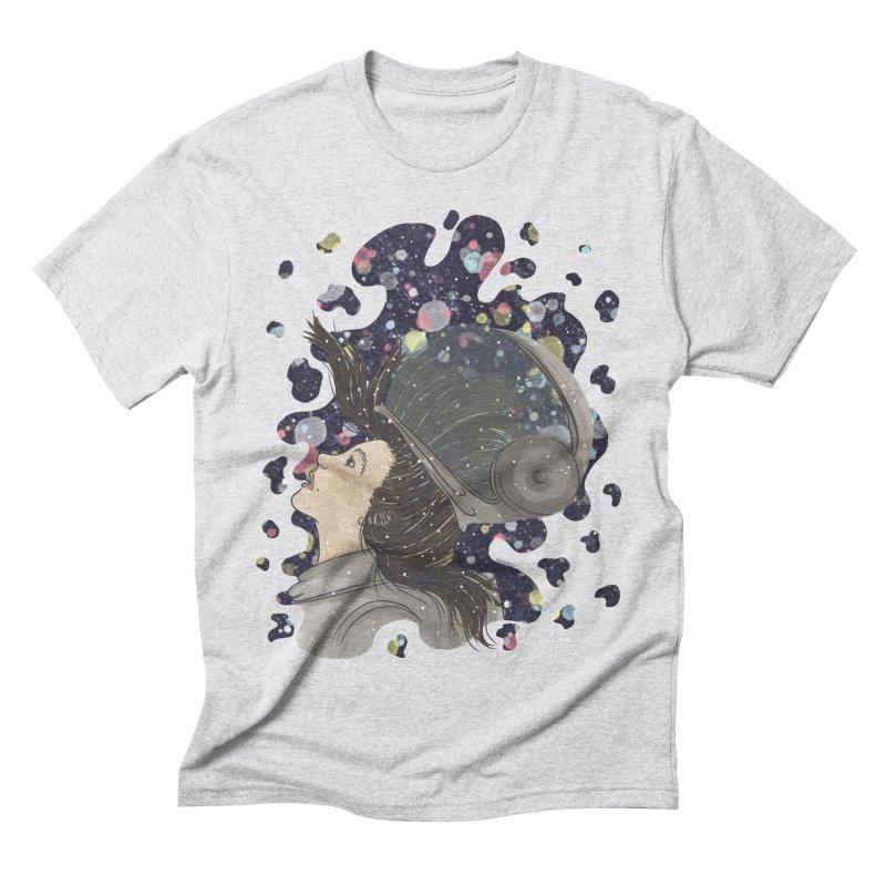 Francisca Cárcamo Men's Triblend T-Shirt by Misterdressup