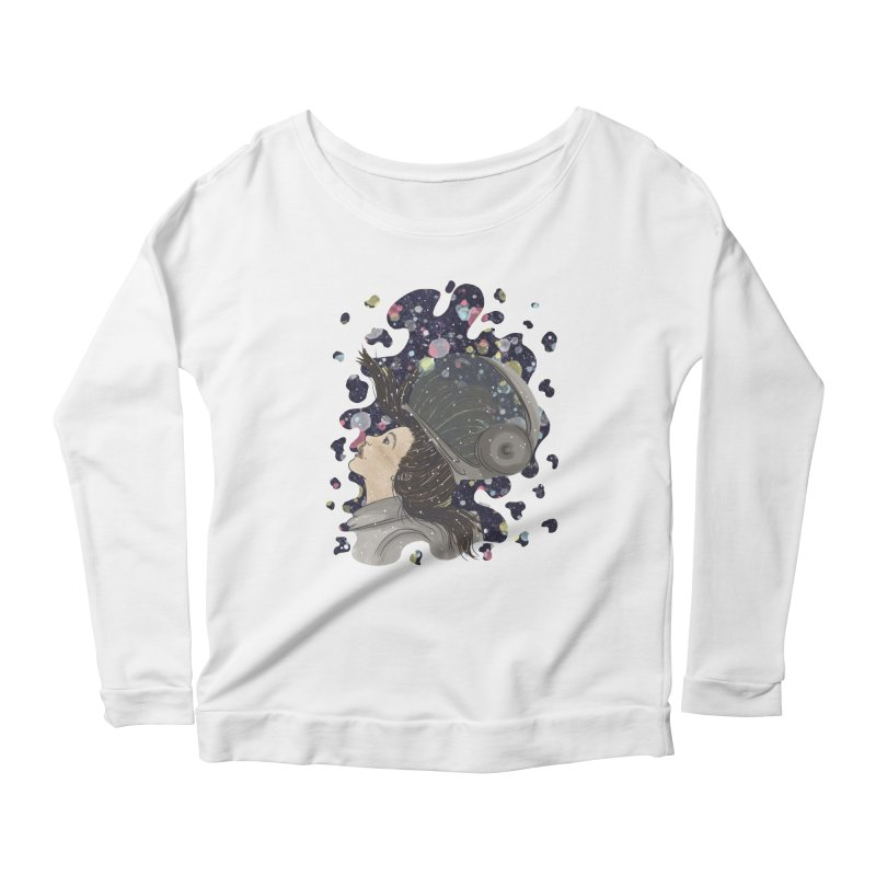 Francisca Cárcamo Women's Scoop Neck Longsleeve T-Shirt by Misterdressup