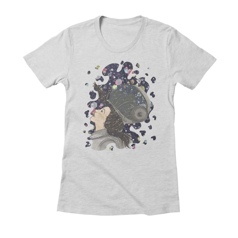 Francisca Cárcamo Women's Fitted T-Shirt by Misterdressup