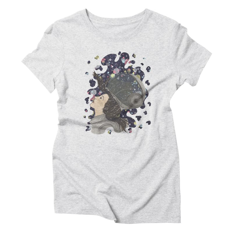 Francisca Cárcamo Women's Triblend T-Shirt by Misterdressup