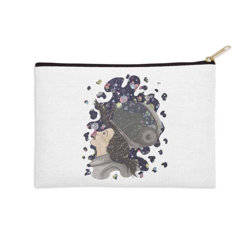 Francisca Cárcamo Accessories Zip Pouch by Misterdressup