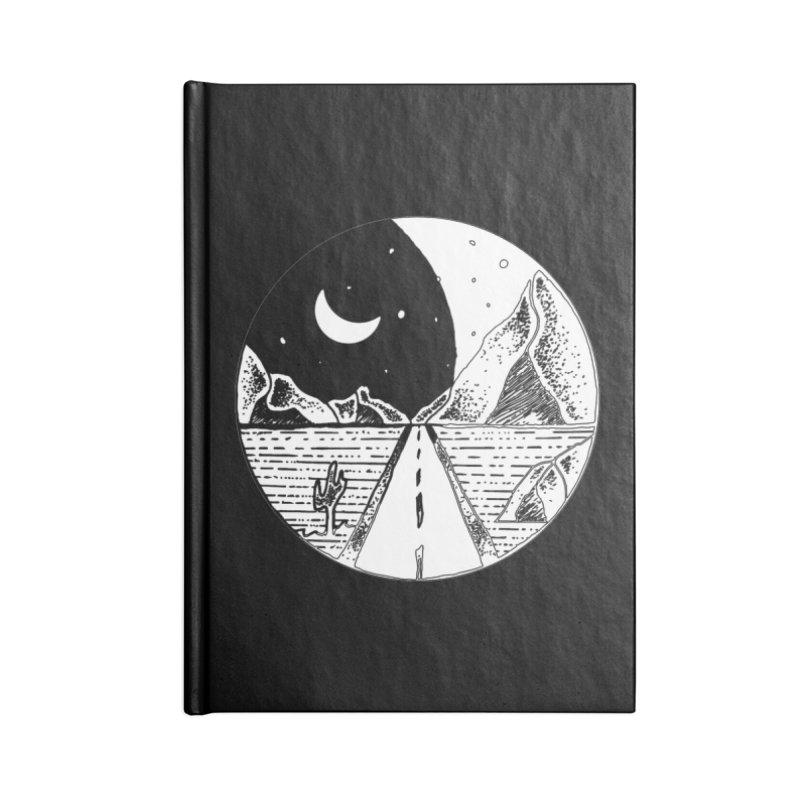 Alexandu Achim Accessories Lined Journal Notebook by Misterdressup