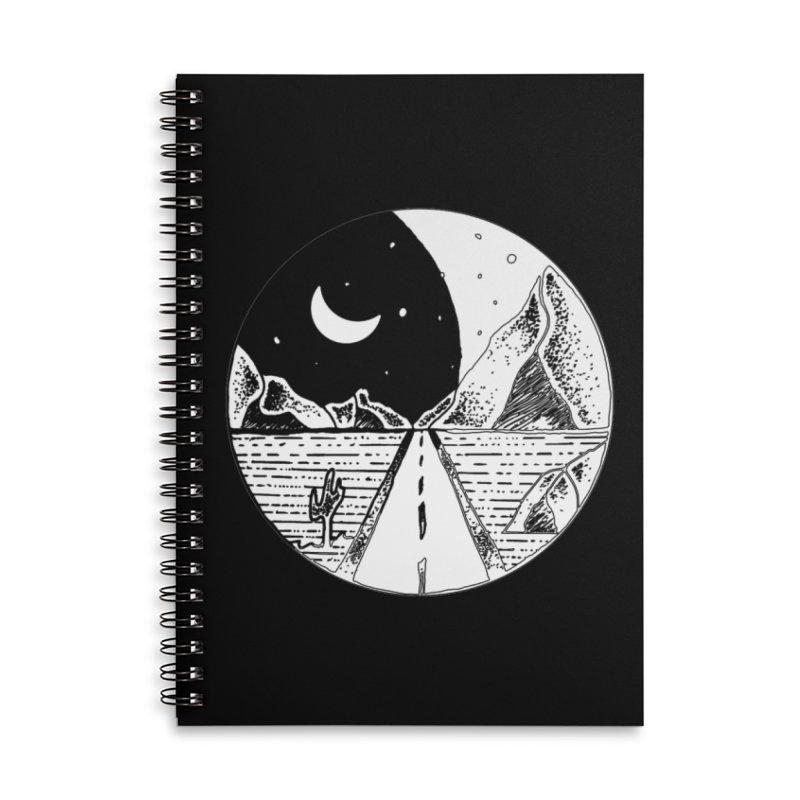 Alexandu Achim Accessories Lined Spiral Notebook by Misterdressup