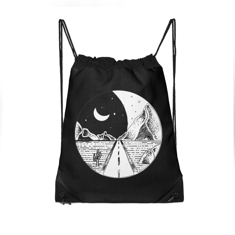 Alexandu Achim Accessories Drawstring Bag Bag by Misterdressup