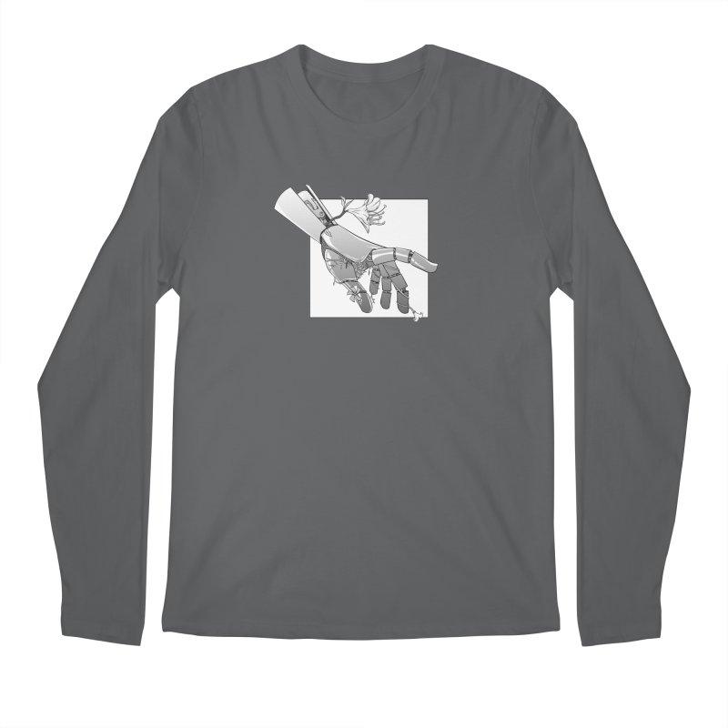 Drew Shapiro Men's Regular Longsleeve T-Shirt by Misterdressup