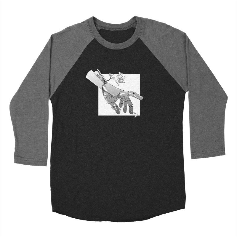 Drew Shapiro Men's Baseball Triblend Longsleeve T-Shirt by Misterdressup