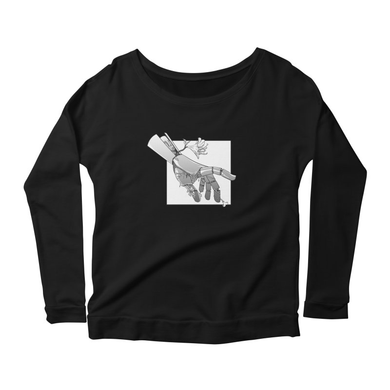 Drew Shapiro Women's Scoop Neck Longsleeve T-Shirt by Misterdressup