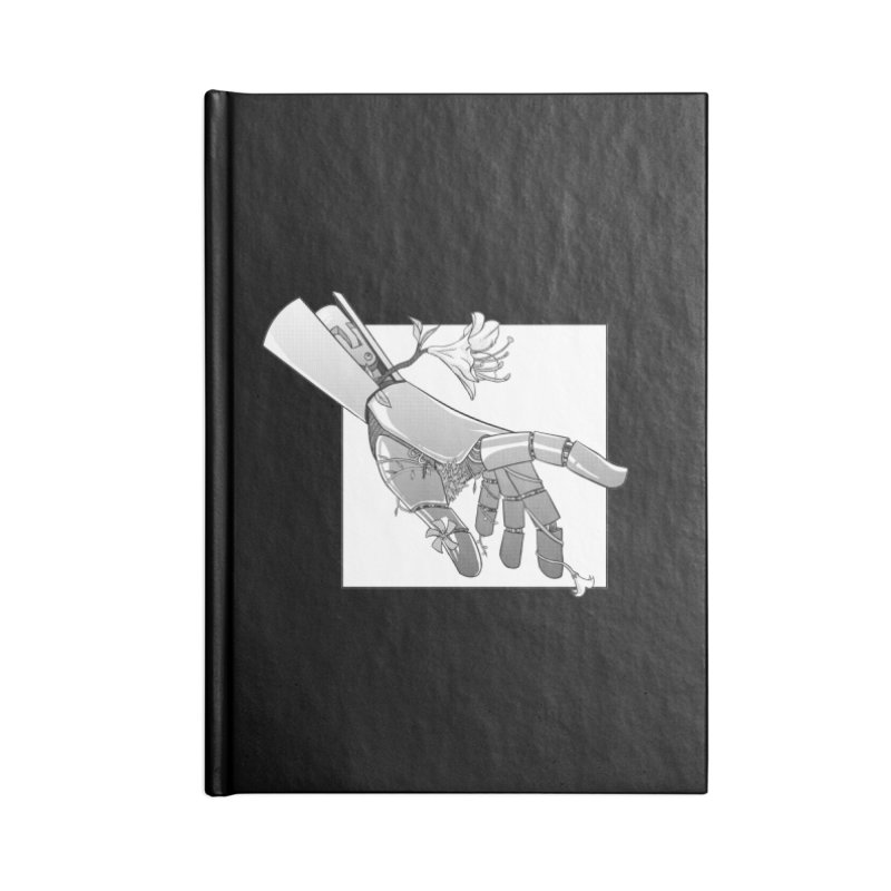 Drew Shapiro Accessories Lined Journal Notebook by Misterdressup