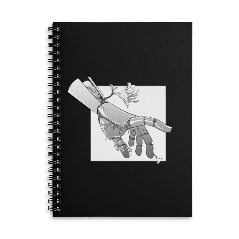 Drew Shapiro Accessories Lined Spiral Notebook by Misterdressup