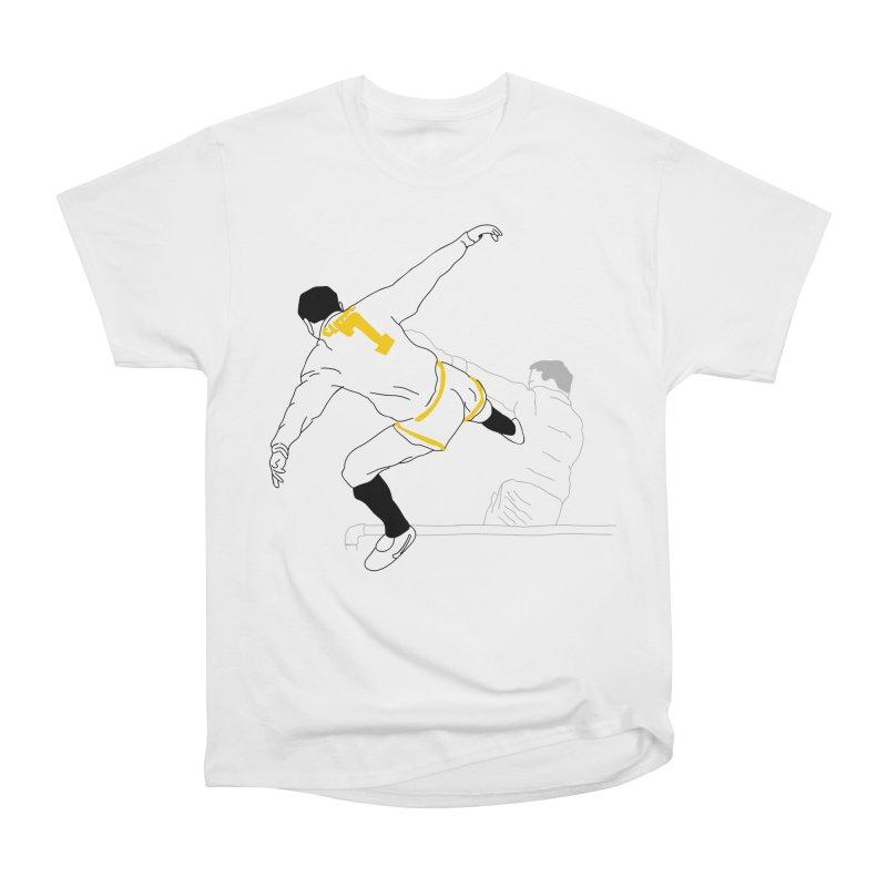 Raul Kuvischansky Men's Heavyweight T-Shirt by Misterdressup