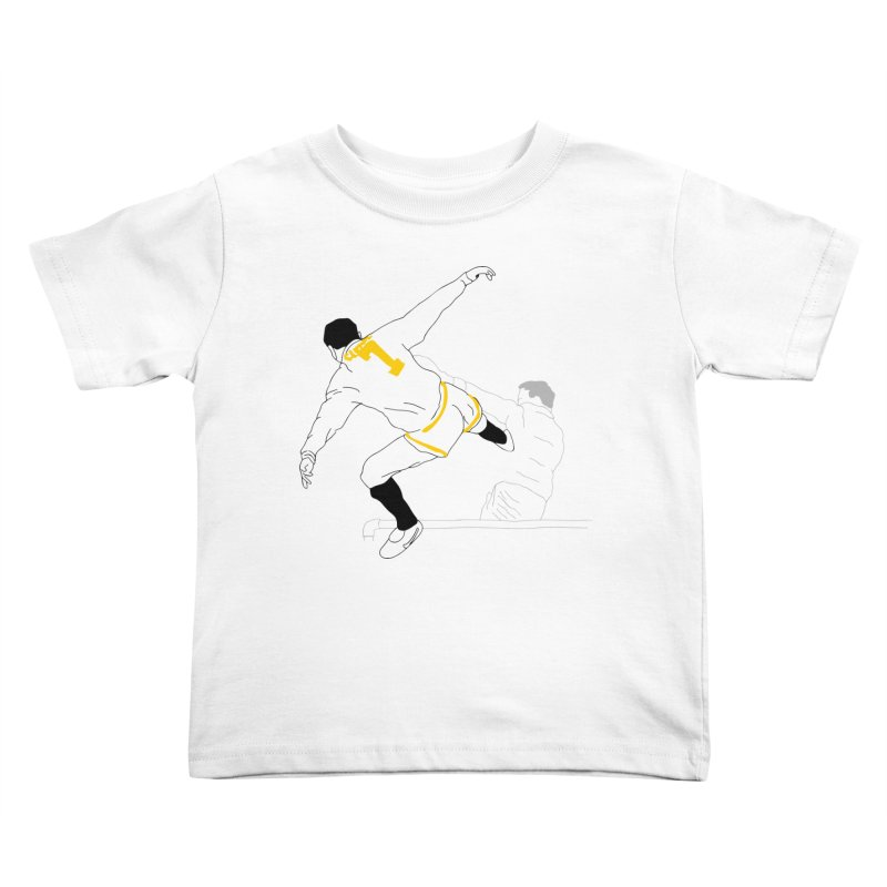 Raul Kuvischansky Kids Toddler T-Shirt by Misterdressup