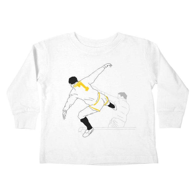 Raul Kuvischansky Kids Toddler Longsleeve T-Shirt by Misterdressup