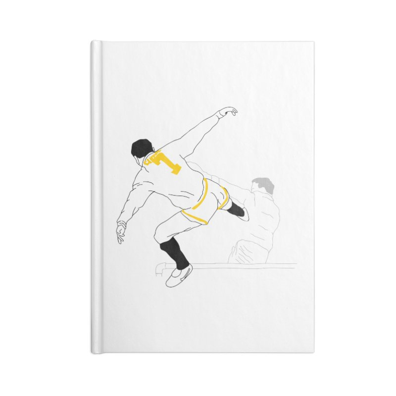 Raul Kuvischansky Accessories Lined Journal Notebook by Misterdressup