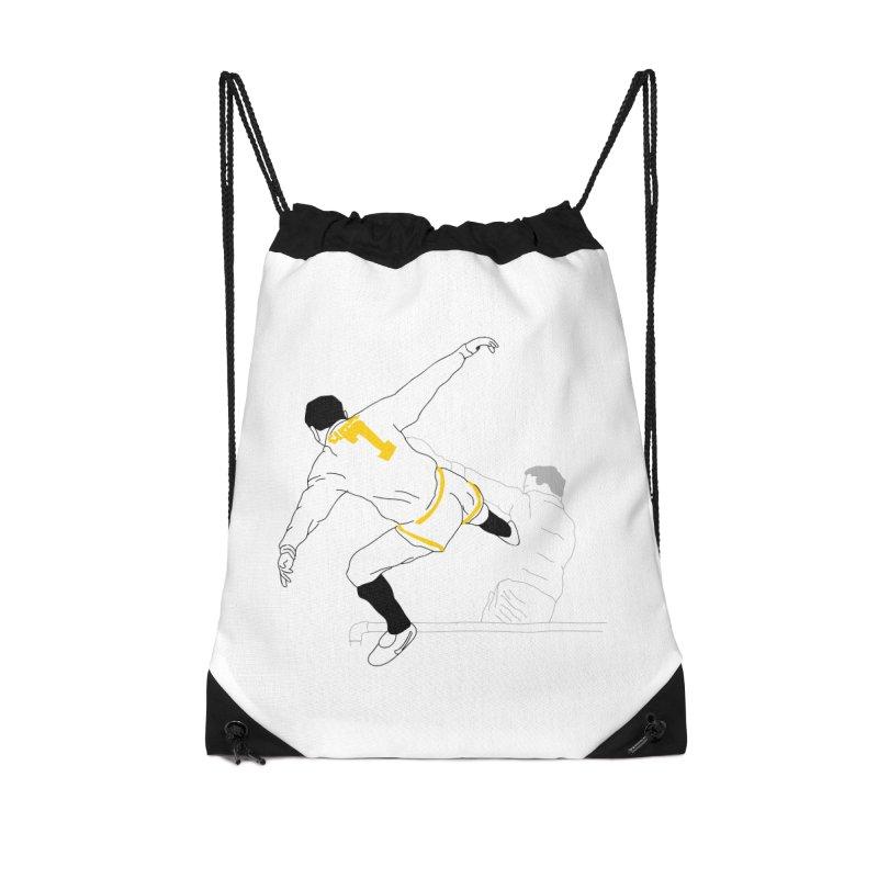 Raul Kuvischansky Accessories Drawstring Bag Bag by Misterdressup